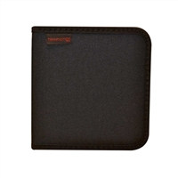TekNMotion CD/DVD Nylon Wallet 24 Capacity Black