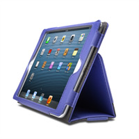 Kensington Portafolio Soft Folio Case for iPad mini with Retina display - Purple