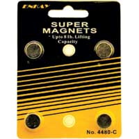 Enkay Products Super Magnets, 4 magnets