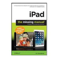 O'Reilly IPAD MISSING MANUAL 6/E