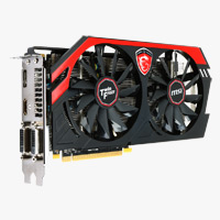 MSI AMD Radeon R9 270 Overclocked 2048MB PCIe 3.0 x16 Video Card
