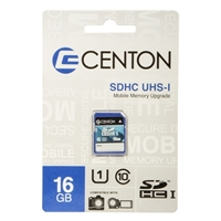 Centon 16GB SDHC Class 10 / UHS-1 Flash Memory Card