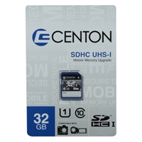 Centon 32GB SDHC Class 10 / UHS-1 Flash Memory Card