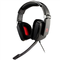 Thermaltake eSPORTS SHOCK Foldable Professional Gaming Headset Refurbished - Black