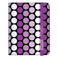 Griffin Polka Dot Passport for iPad Air - Purple