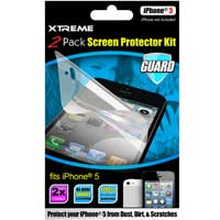 Xtreme Cables Screen Protector for iPhone 5 2-Pack