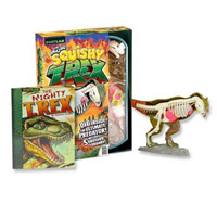 SmartLab Toys The Amazing Squishy T-Rex Toy Building Set
