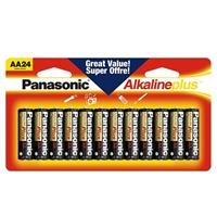 Panasonic Energy of America AA Alkaline Plus Battery 24-Pack
