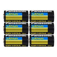 Panasonic Energy of America CR123A Lithium Battery - 6 Pack