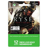InComm Xbox Live Ryse 12 Month 2013 $59.99