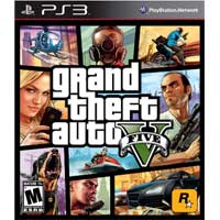 Take Two PS3 Grand Theft Auto 5