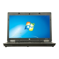 "HP 6440P Windows 7 Professional 14"" Laptop Computer Refurbished - Gray"