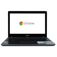 "Acer C720-2848 11.6"" Chromebook - Granite Gray"
