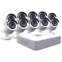 Swann Communications 16-Channel DVR Surveillance System with 500GB HDD and 10 Cameras