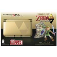 Nintendo Gold 3DS XL Legend of Zelda