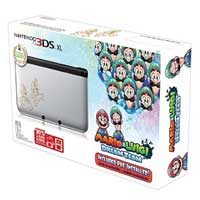 Nintendo Silver 3DS XL Mario & Luigi DT