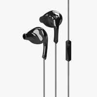 Yurbuds Signature Series ITE 100 LaMichael James Earphones - Black
