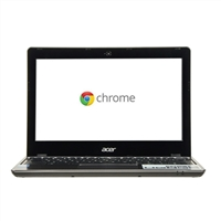 "Acer C720-2420 11.6"" Chromebook - Granite Gray"