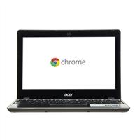 "Acer C720-2420 11.6"" Chromebook - Granite Gray"