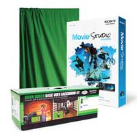 Savage Green Screen Basic Video Background Kit