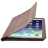 Cirago Slim-Fit Leather Case for iPad Air - Brown