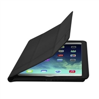 Cirago Slim-Fit Leather Case for iPad Air - Black