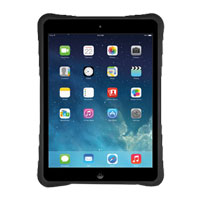 MacAlly Hardshell Case with Flexible Grip for iPad Air - Black