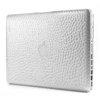 "InCase Hammered Hardshell Case for MacBook Pro 13"" Aluminum - Clear"