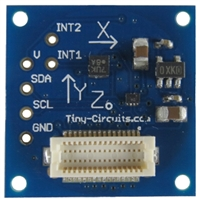 Tiny Circuits Tiny Shield Accelerometer
