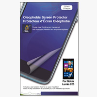 Green Onions Supply Crystal Oleophobic Screen Protector for Nokia Lumia 925 Smartphone - 2 pack