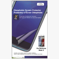 Green Onions Supply Crystal Oleophobic Screen Protector for Motorola Moto X SmartPhone - 2 pack