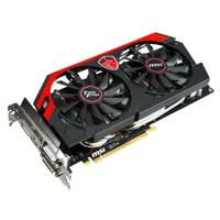 MSI GTX 780 TI NVIDIA GAMING 3GB PCIE 3.0 Video Card