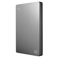 Seagate Backup Plus Slim 1TB SuperSpeed USB 3.0 Portable Hard Drive STDR1000101 - Silver