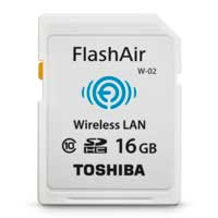 Toshiba Flash AirII Wireless SD Card