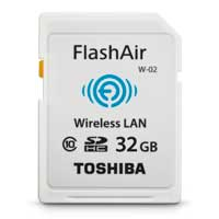 Toshiba 32 GB Toshiba  FlashAir II Wireless SD Memory Card
