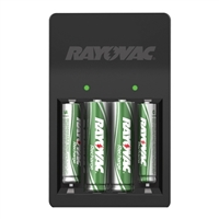 Rayovac 4 Position AA and AAA Charger with Batteries