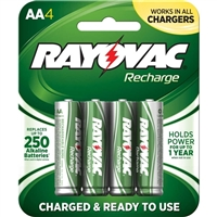 Rayovac AA Rechargeable Battery 4-Pack