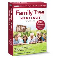 Individual Software Family Tree Heritage Platinum 9 (PC)