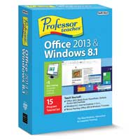 Individual Software Professor Teaches Office 2013 & Windows 8.1 (PC)