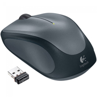 Logitech M315 Wireless Optical Mouse Refurbished - Silver