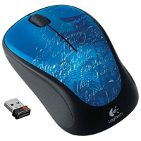 Logitech M315 Wireless Optical Mouse - Indigo Scroll (Refurbished)