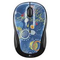Logitech M325 Wireless Optical Mouse Blue Sky