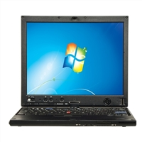 "Lenovo ThinkPad X61 12.1"" Laptop Computer Refurbished - Black"