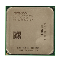 AMD FX 4130 Black Edition 3.8/3.9 GHZ Quad-Core Tray CPU