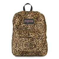 Jansport High Stakes Standard Backpack - Plush Cheetah