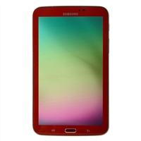 Samsung Galaxy Tab 3 Tablet Garnet Red Edition Bundle - Red