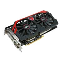 MSI Radeon R9 270X Overclocked 2GB GDDR5 PCIe 3.0 Video Card