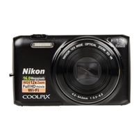 Nikon Coolpix S6800 16.0 Megapixel Digital Camera Black
