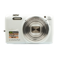 Nikon Coolpix S6800 16.0 Megapixel Digital Camera White