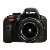 Nikon D3300 24.2 Megapixel Digital SLR Camera Kit with 18-55mm VR II Lens
